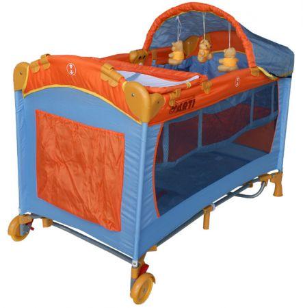 Кровать-манеж Arti L6 Max (цвет 4)