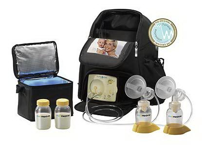 Двухфазный электрическим молокоотсос Medela с набором на две груди (Pump in Style® Advanced)