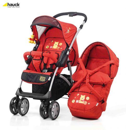 Универсальная коляска-книжка Hauck Shopper RS Disney (красная)